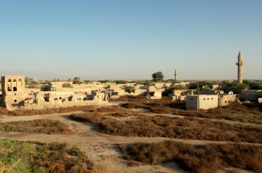 Overview of the Jazira Al Hamra village © Philippe Henry / OCEAN71 Magazine