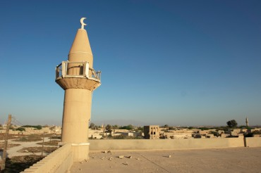 One of the mosques' minaret © Philippe Henry / OCEAN71 Magazine