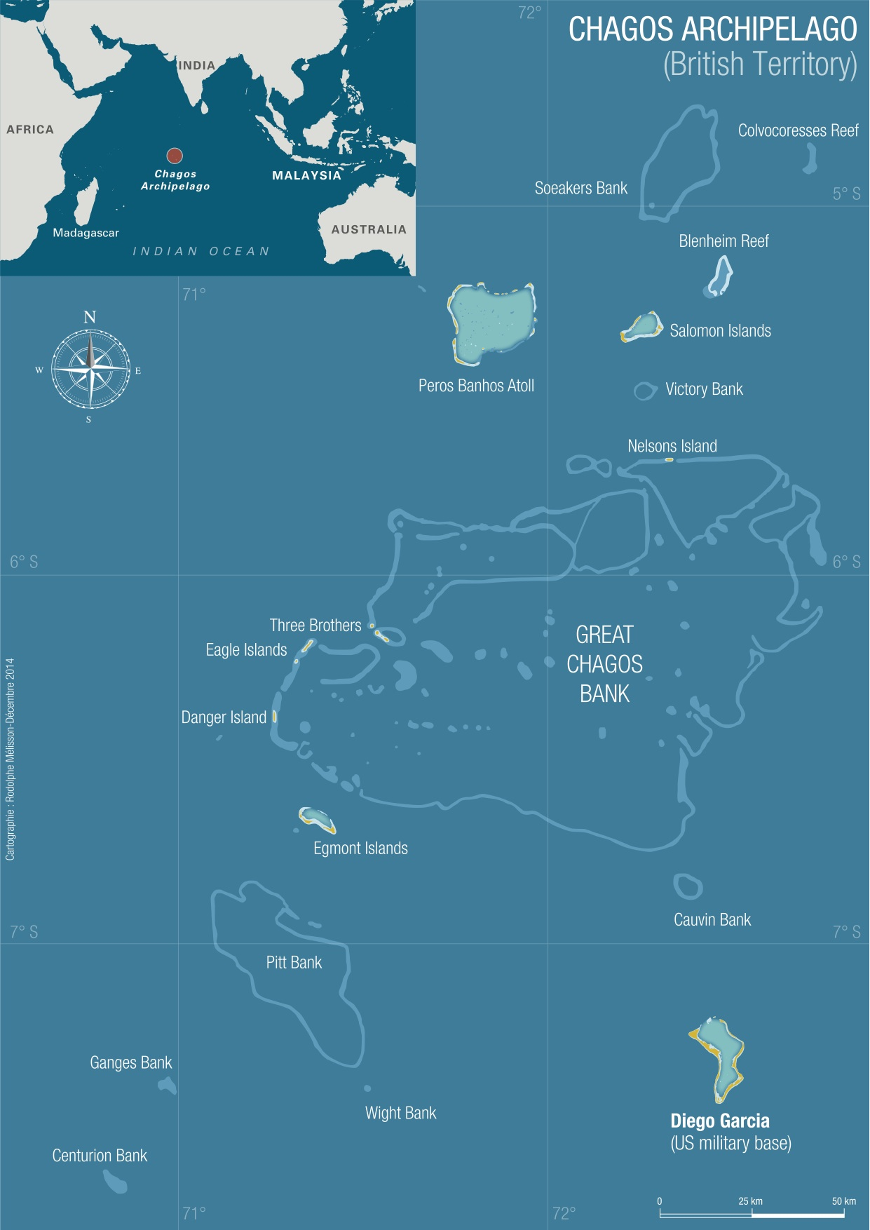 World Map Indian Ocean Islands